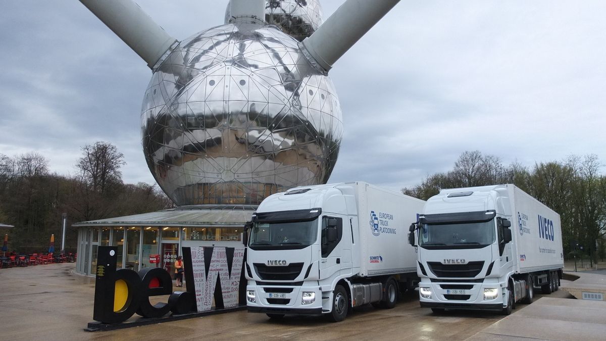 IVECO at the European Truck Platooning Challenge back in April this year
