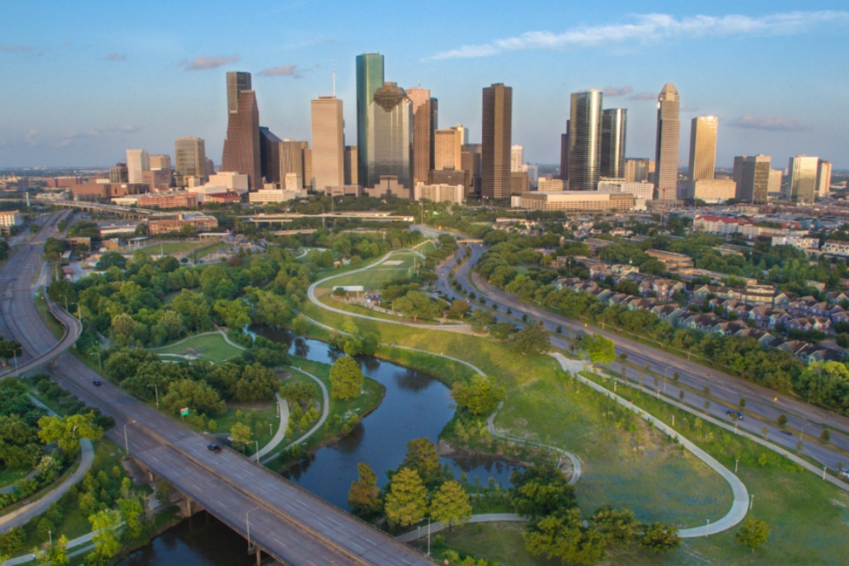Houston was officially the first city to benefit from the 5G network