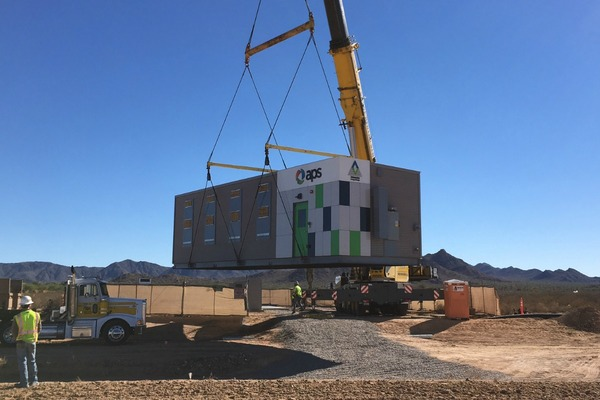 Desert provides a home for energy storage