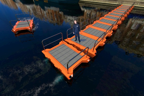 Autonomous floating fleet to be tested on Amsterdam's waterways