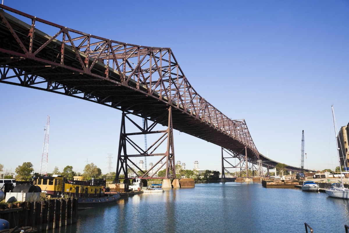 The Chicago Skyway Toll Bridge serves more than 14 million customers per year