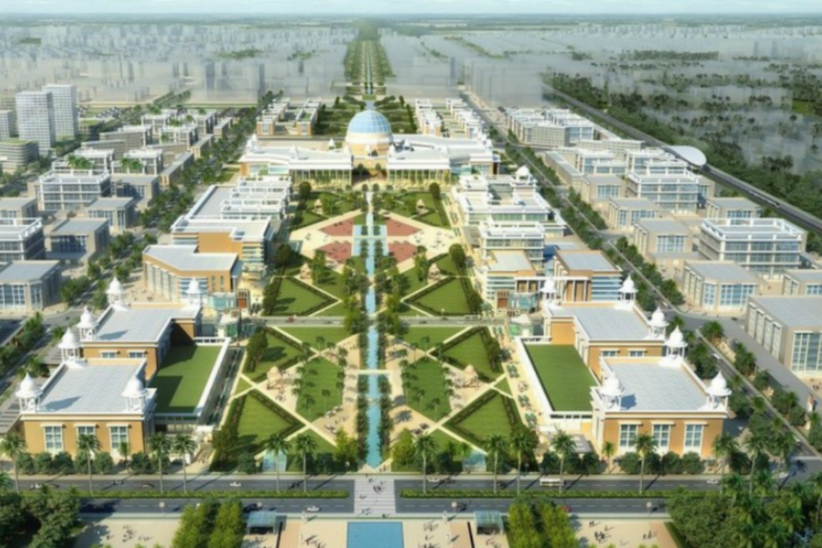 Amaravati is being transformed into a technologically advanced capital city