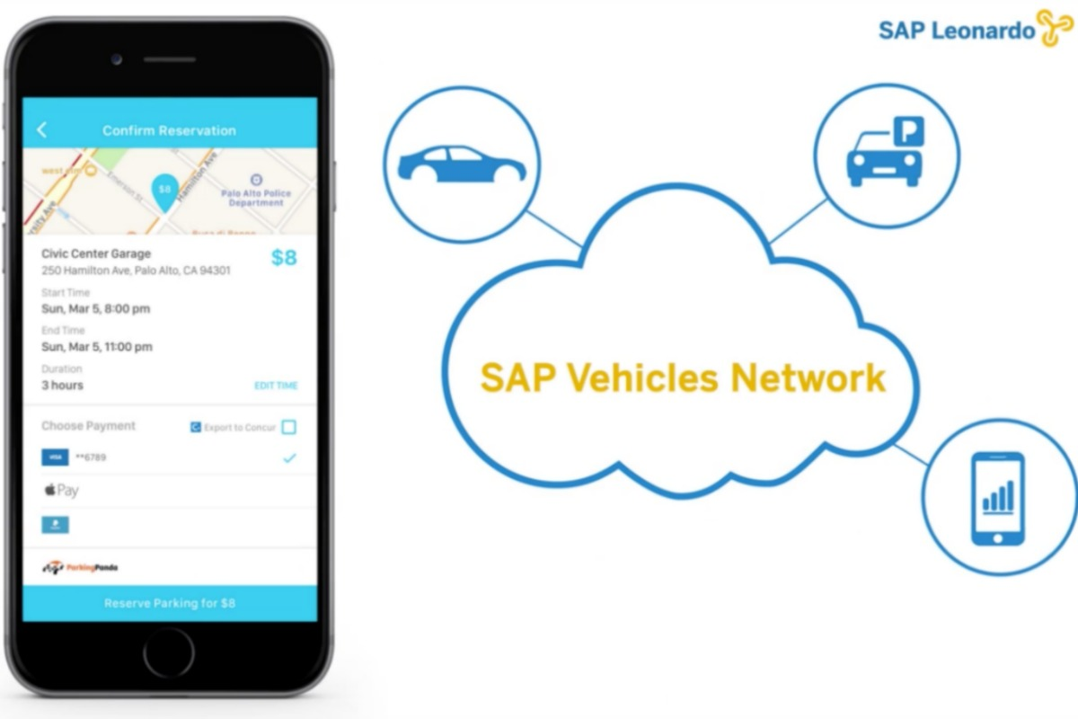 Mojio's cloud integration with SAP Vehicles Network takes guess work out of parking