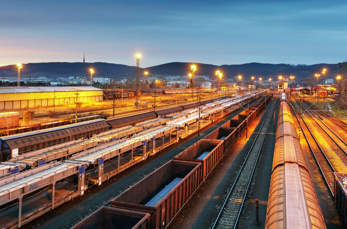 Rail accounted for 13.4 per cent of the European freight transportation market in 2016