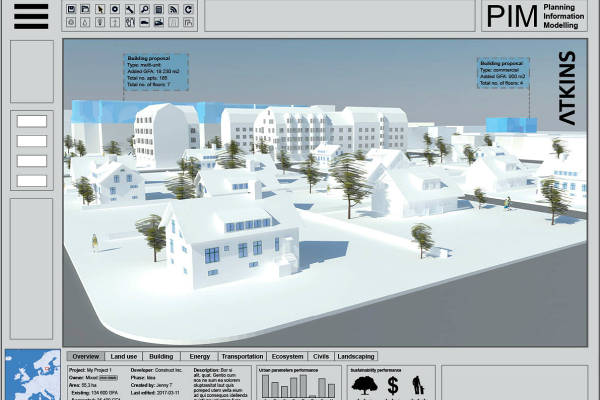 atkins to build digital urban planning tool smart cities For3d Planning Tool