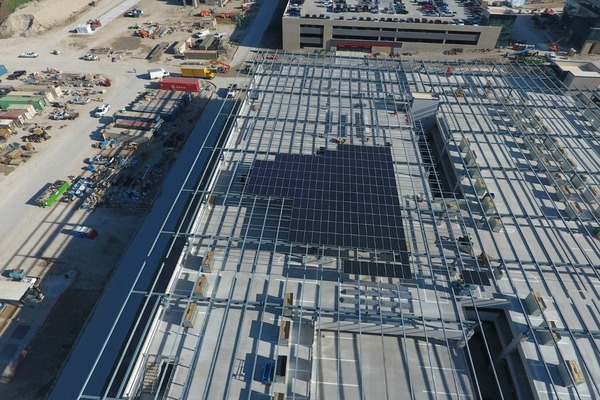 Toyota HQ harnesses power of the sun