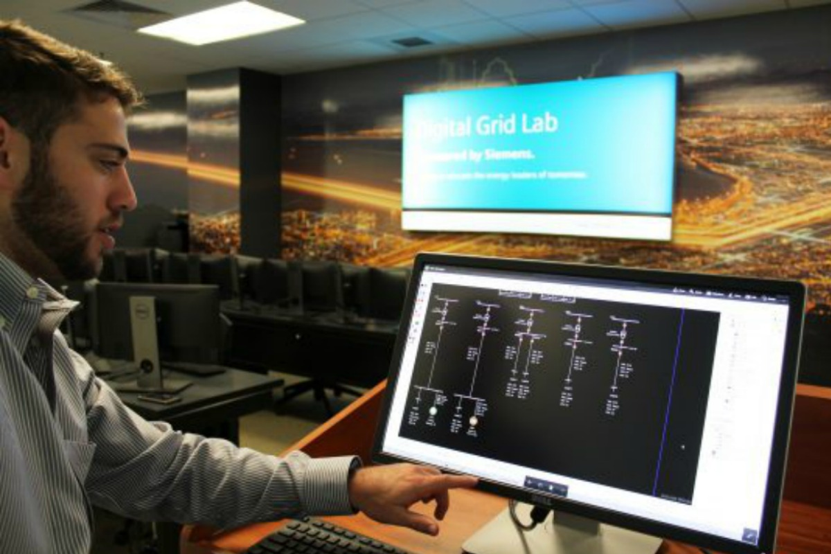 The Siemens Digital Grid Lab at UCF is home to cutting edge technology
