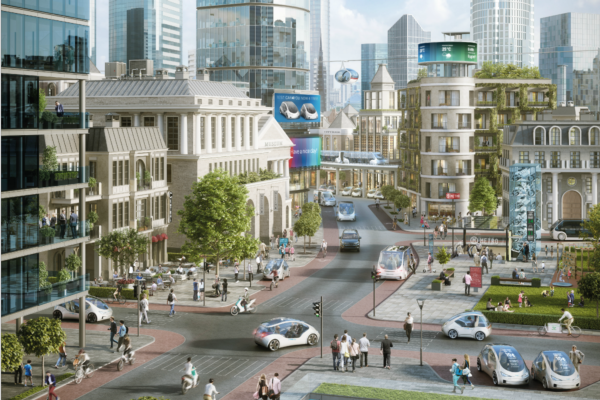 Bosch's smart vision for the future