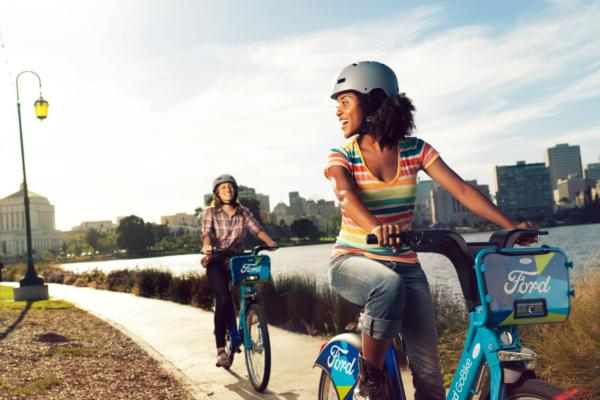Ford launches bike-sharing in the Bay