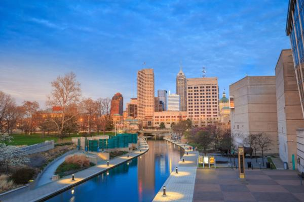 Indianapolis named top connected city