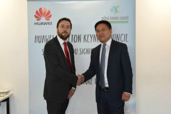 Huawei signs MOU with Milton Keynes Council