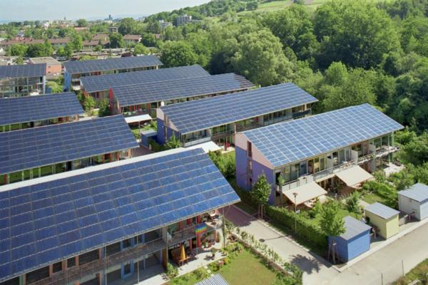Solar-powered cities: sunny outlook with patches of cloud
