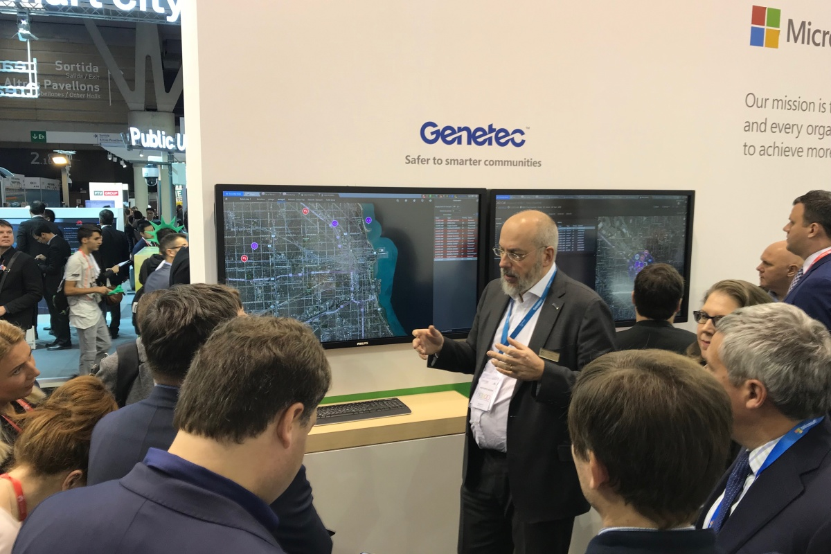Genetec wants to increasing public safety and collaboration inside cities and communities