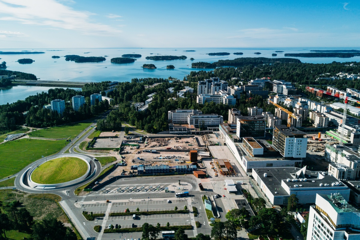 Espoo in Finland is named as one of the Smart21 communities by the ICF