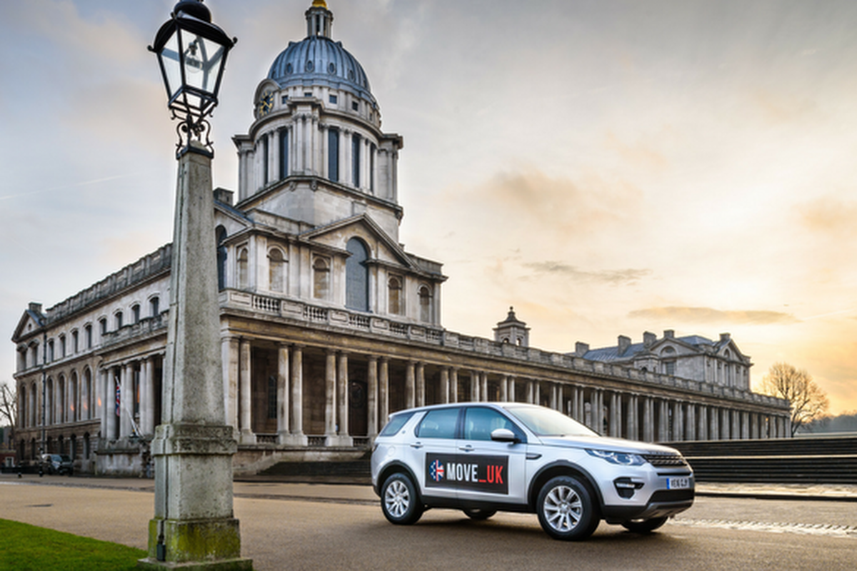 The autonomous trials took place in London's Royal Borough of Greenwich
