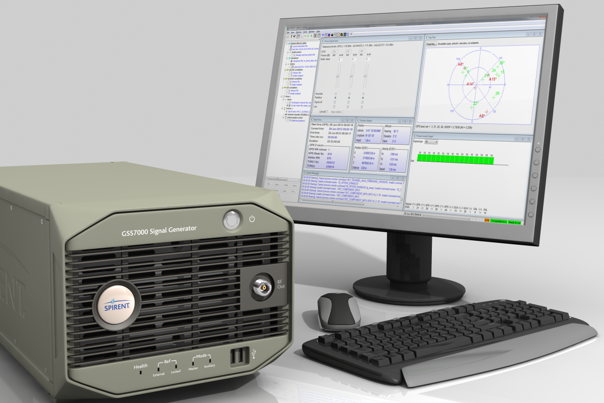 Project makes use of Spirent's GSS7000 Constellation Simulator, designed for GNSS testing