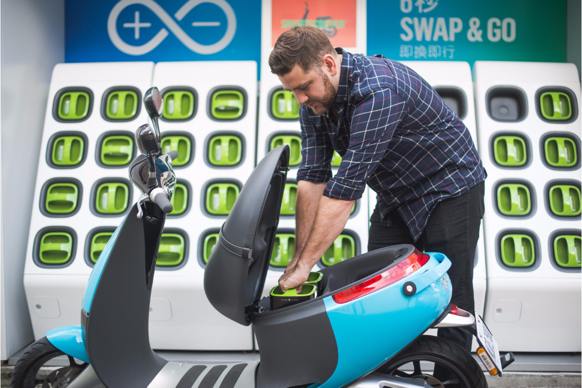 More than 34,000 Gogoro Smartscooter EVs have been sold