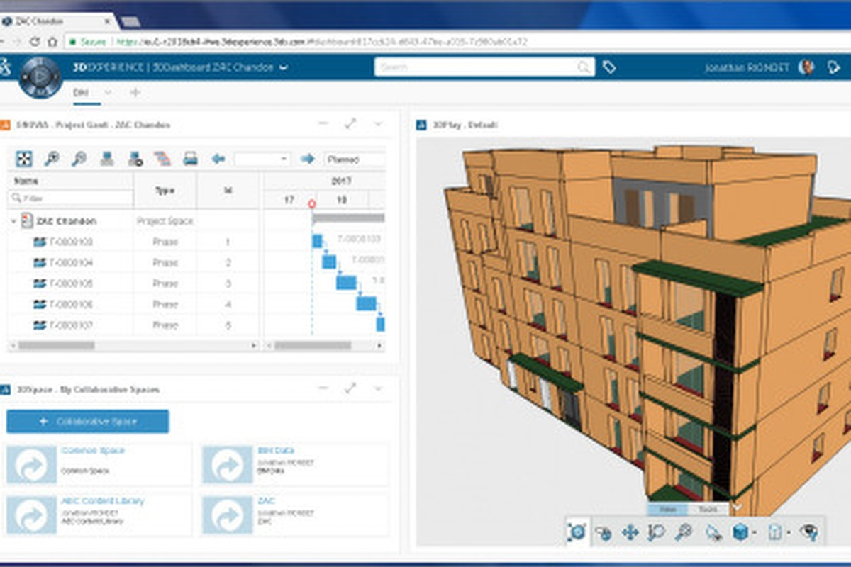 The 3DExperience platform from Dassault Systèmes in action