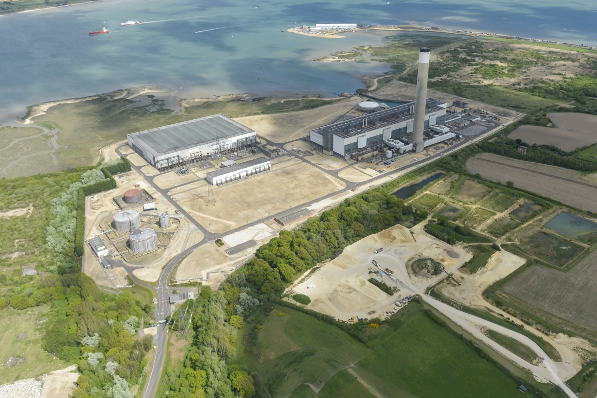 A town-scale smart city will replace the UK's largest oil fired power station at Fawley