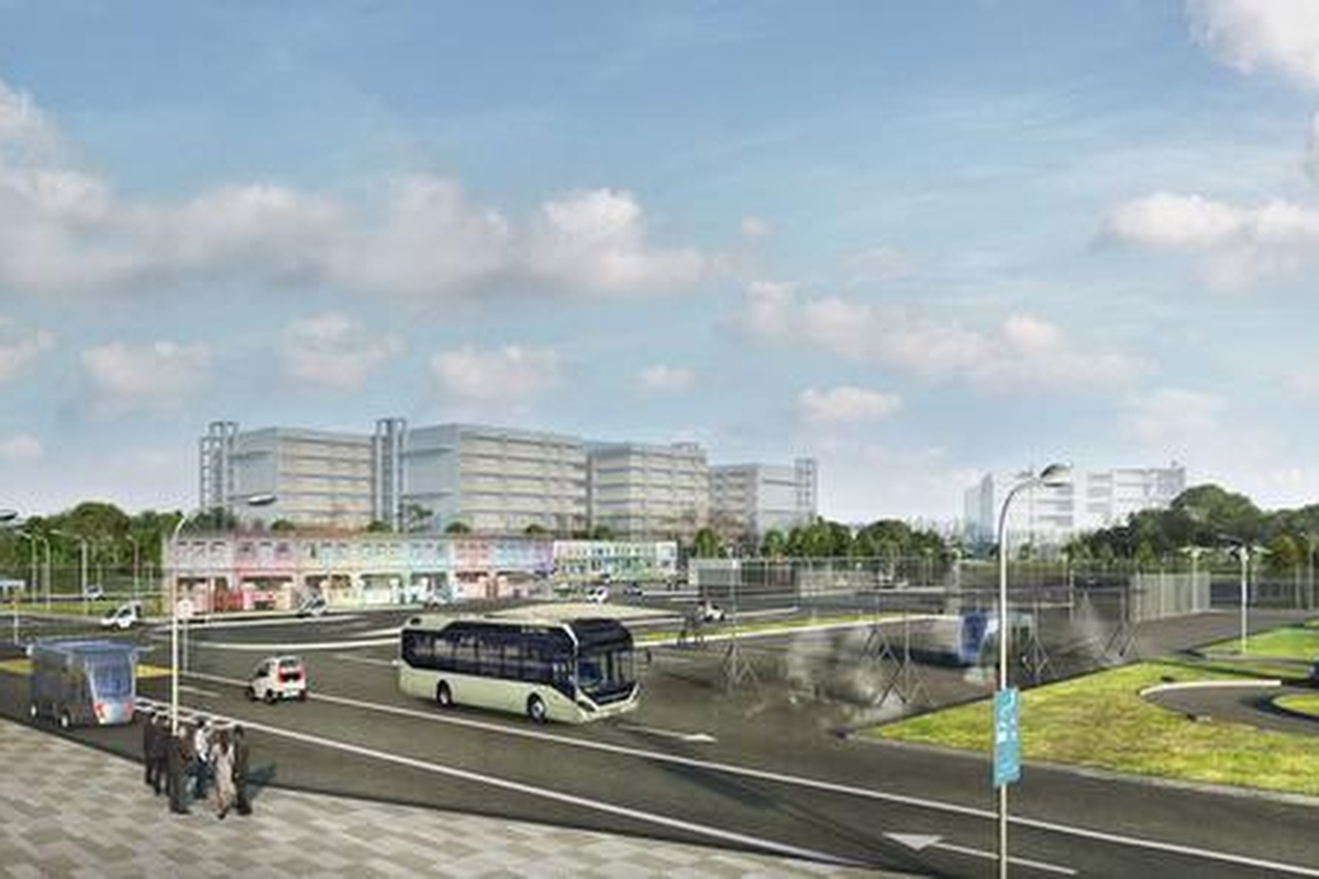 The project will deliver two autonomous electric buses for the start of 2019