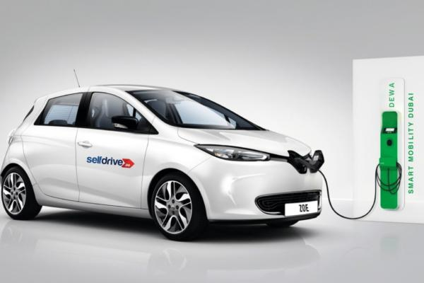 Electric selfdrive launched for UAE