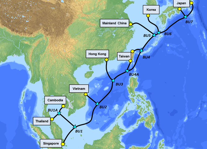 The SJC2 cable marks a key milestone in Intra-Asian digital collaboration