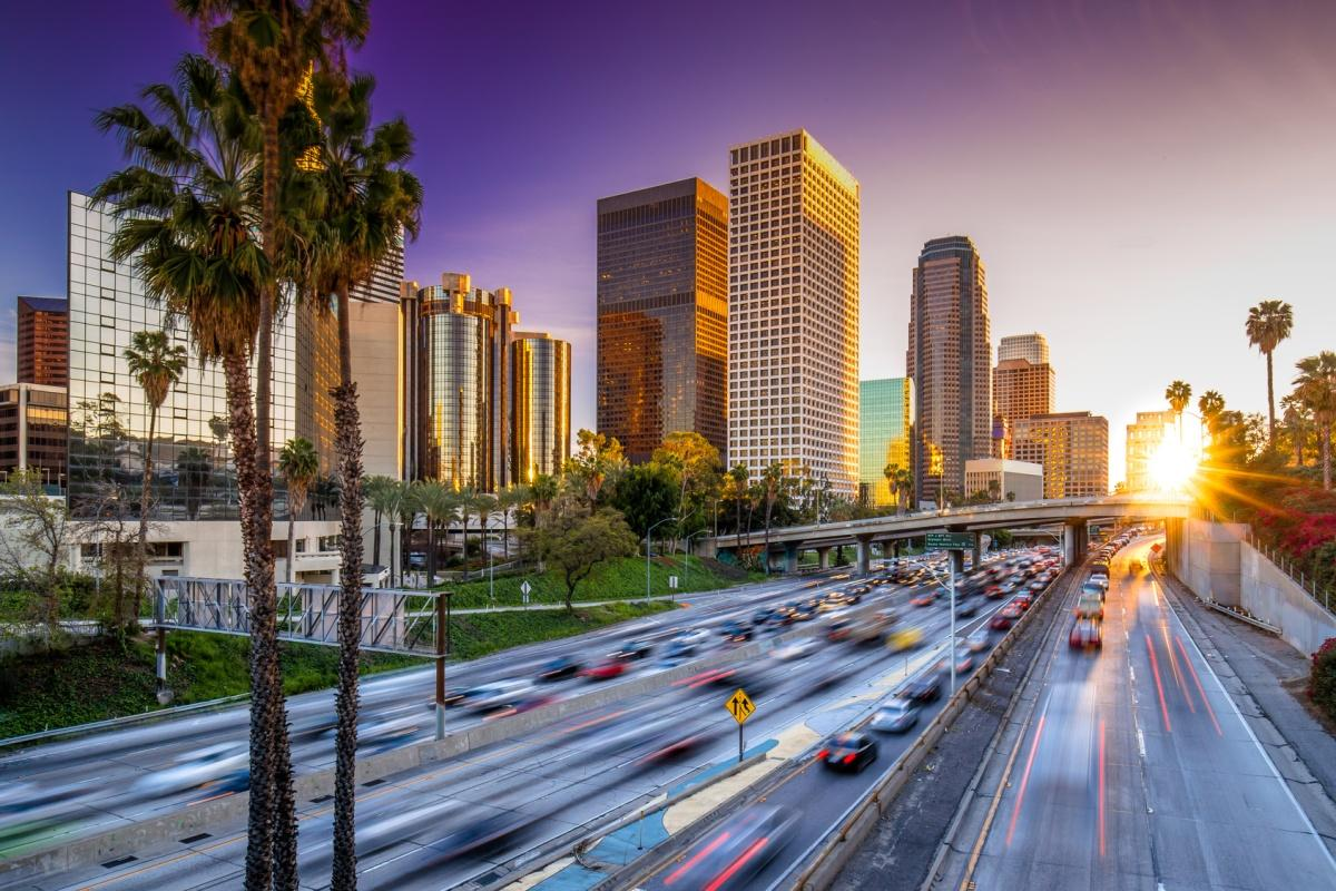 LA holds its place in the survey as most gridlocked city for the sixth year