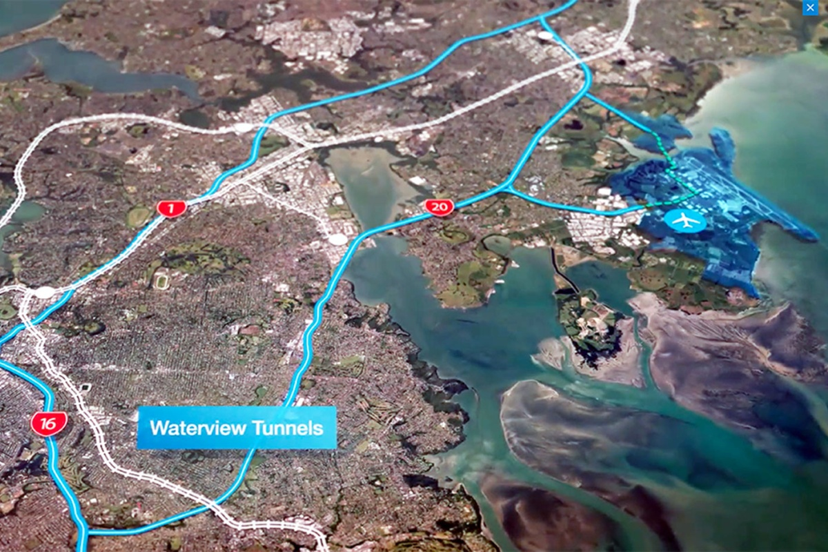 The BlipTrack technology provides a birds-eye view of traffic information