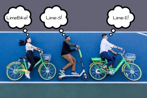 LimeBike adds e-scooters to its fleet