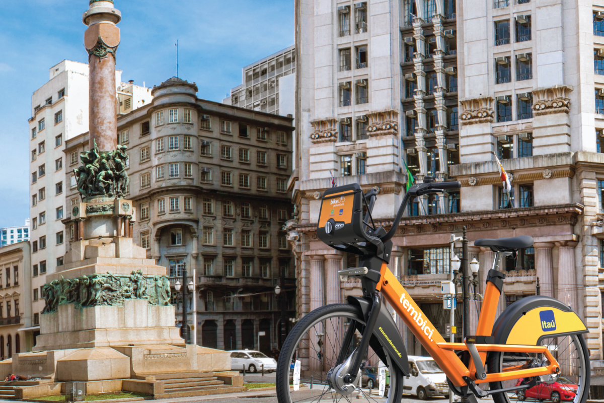 Initially, 2,600 bikes and 260 solar-powered stations will be rolled out across São Paulo