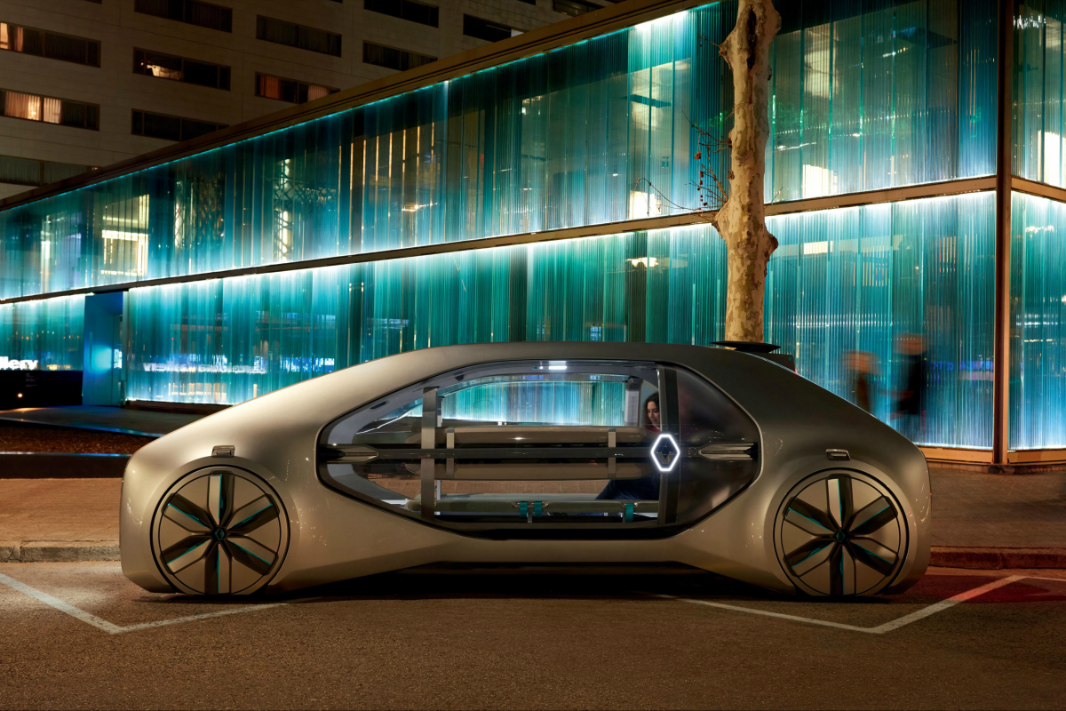 The EZ-GO will feature innovative architecture and cocoon-like styling