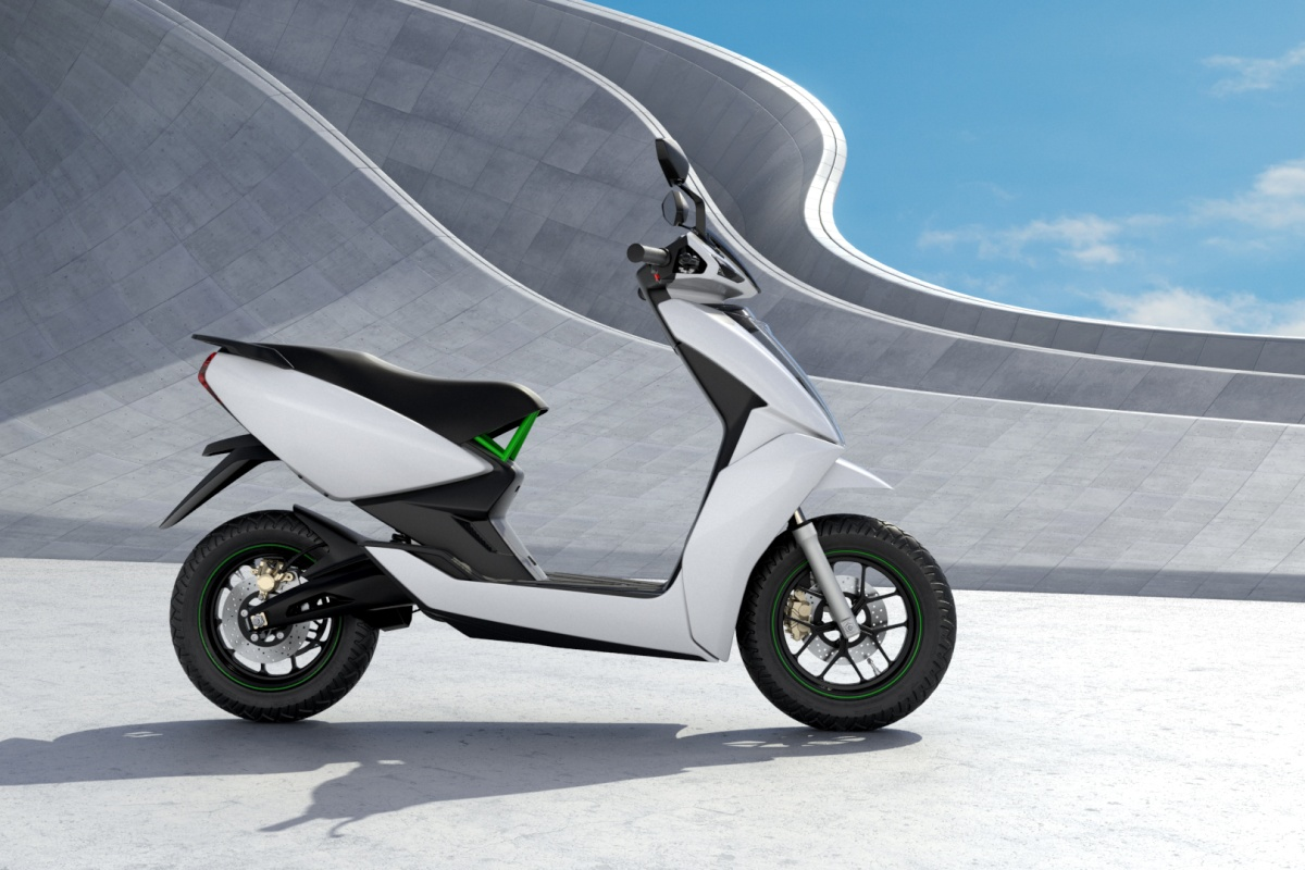 The scooter provides features such as on-board navigation and remote diagnostics