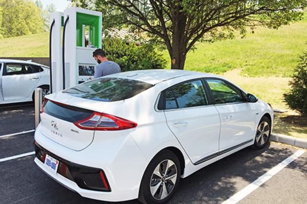 Electrify America chooses ABB to power EVs