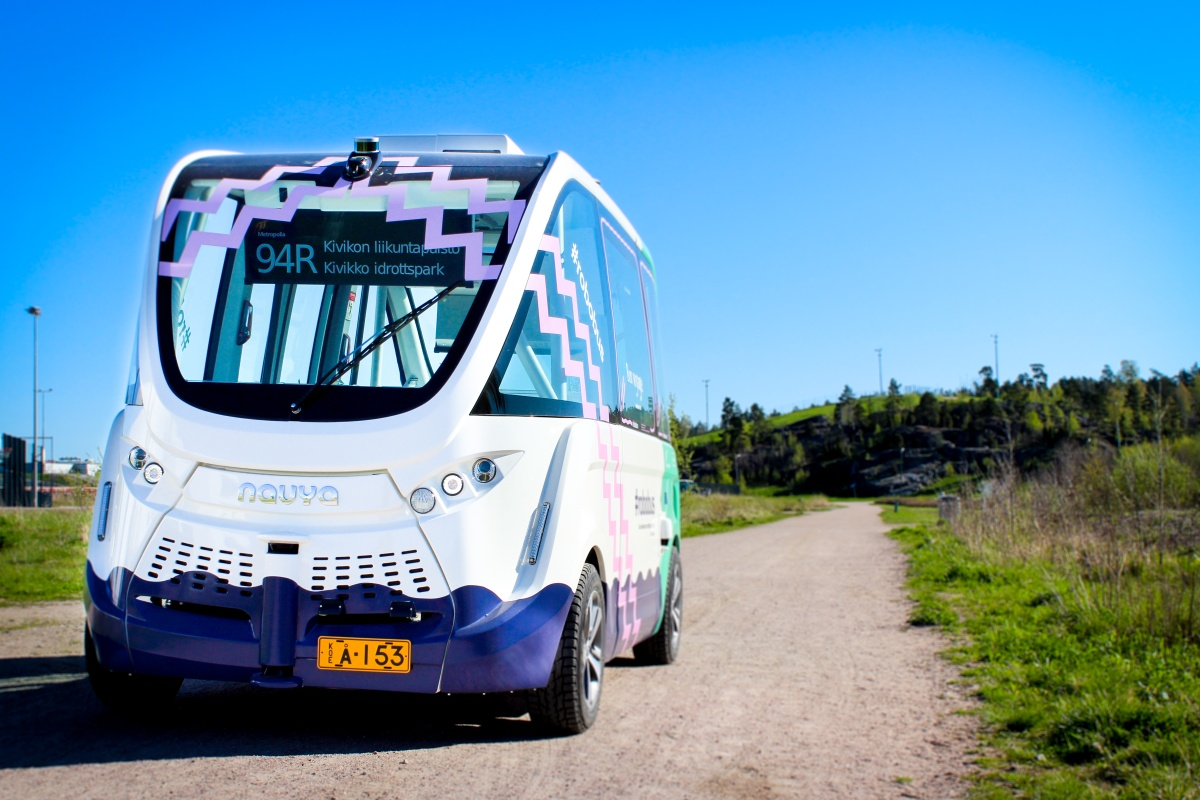 The driverless bus is paving the way for a regular automated bus service