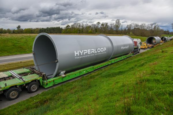 World's first full-scale hyperloop prototype under construction