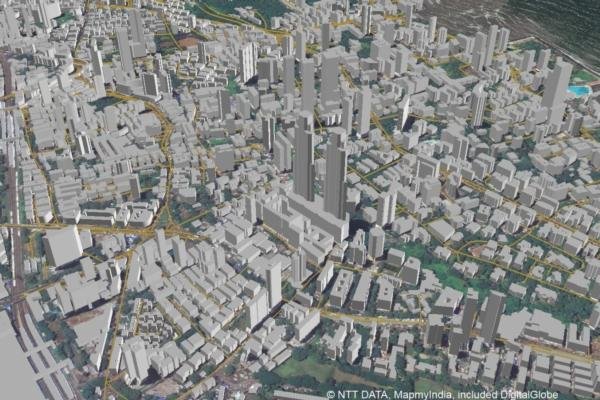 NTT and MapmyIndia partner for 3D mapping