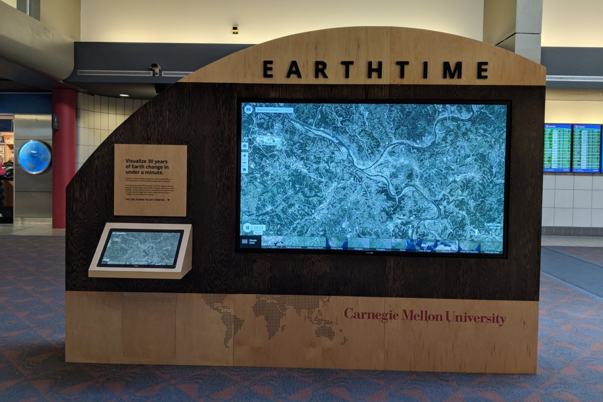 EarthTime uses more than 300 geospatial datasets. Image courtesy: earthtime.org