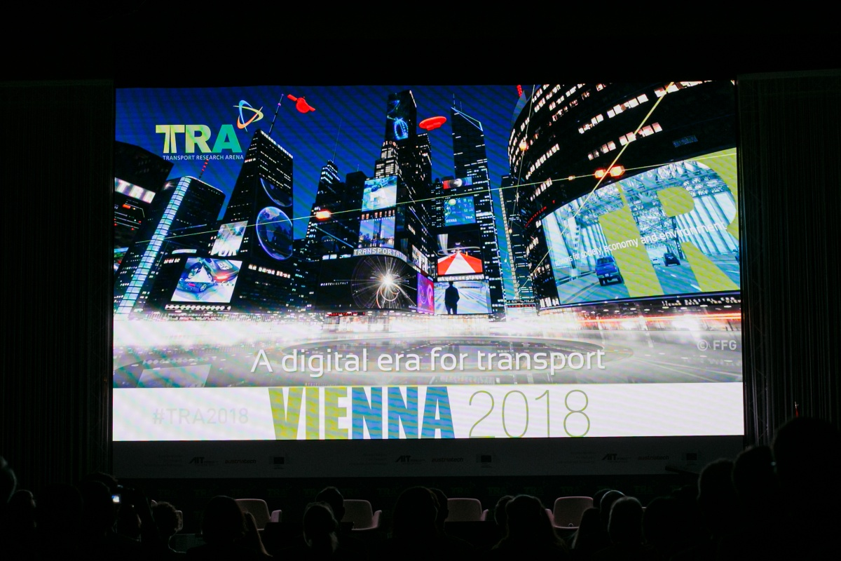 Some 3,000 scientists and experts attended the Transport Research Arena