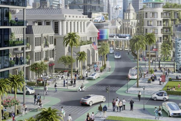 Metropolitan area in California to become pilot city for automated vehicles