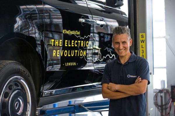 Electric taxi dealership opens in London