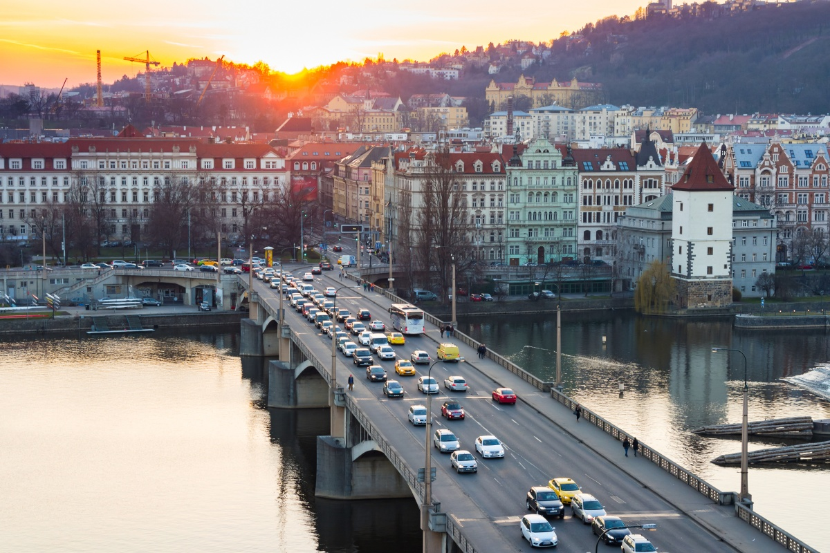 The sensors will help Prague make data-based decisions on air quality