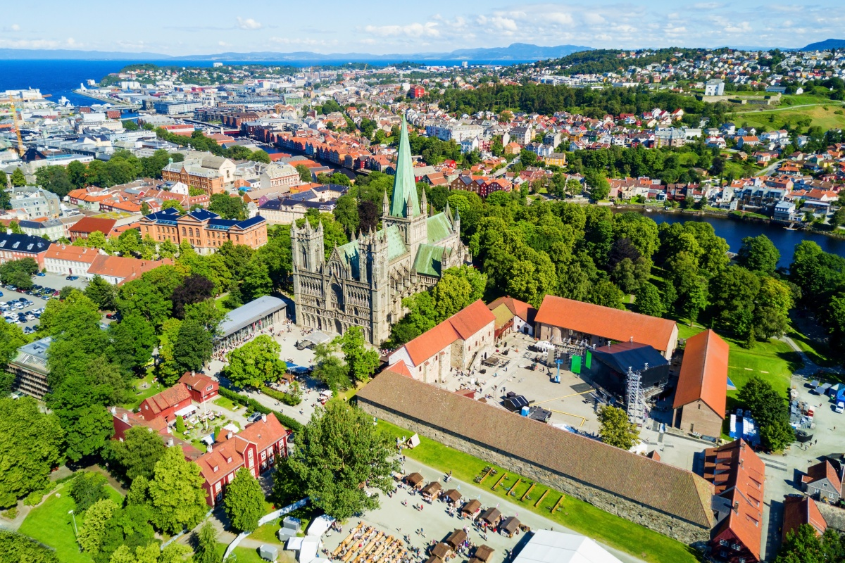 Trondheim (above) and Limerick are among the cities in the consortium