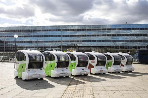 UK's first driverless pod trial demonstrates last-mile potential