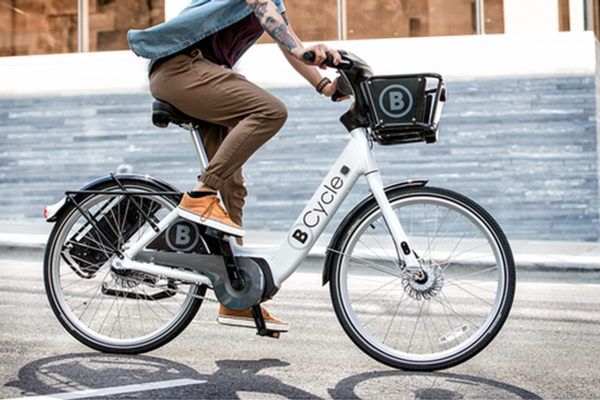 Electric bike-share rolls out in six US cities