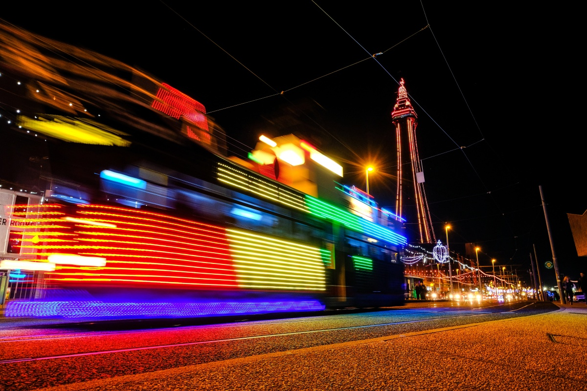 Those running businesses in Blackpool reported increased footfall from the platform