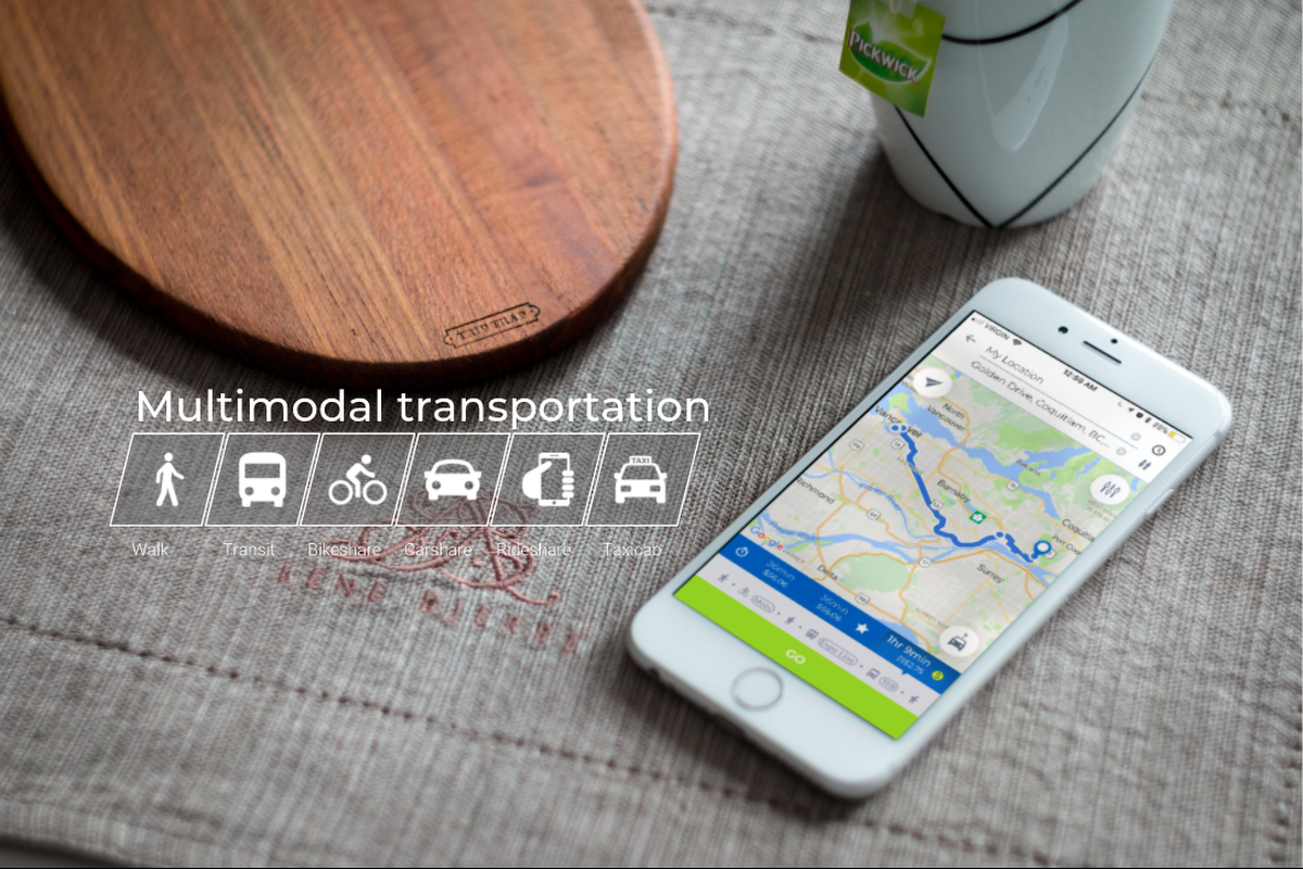 Users of the Cowlines app can choose the fastest, cheapest or greenest route