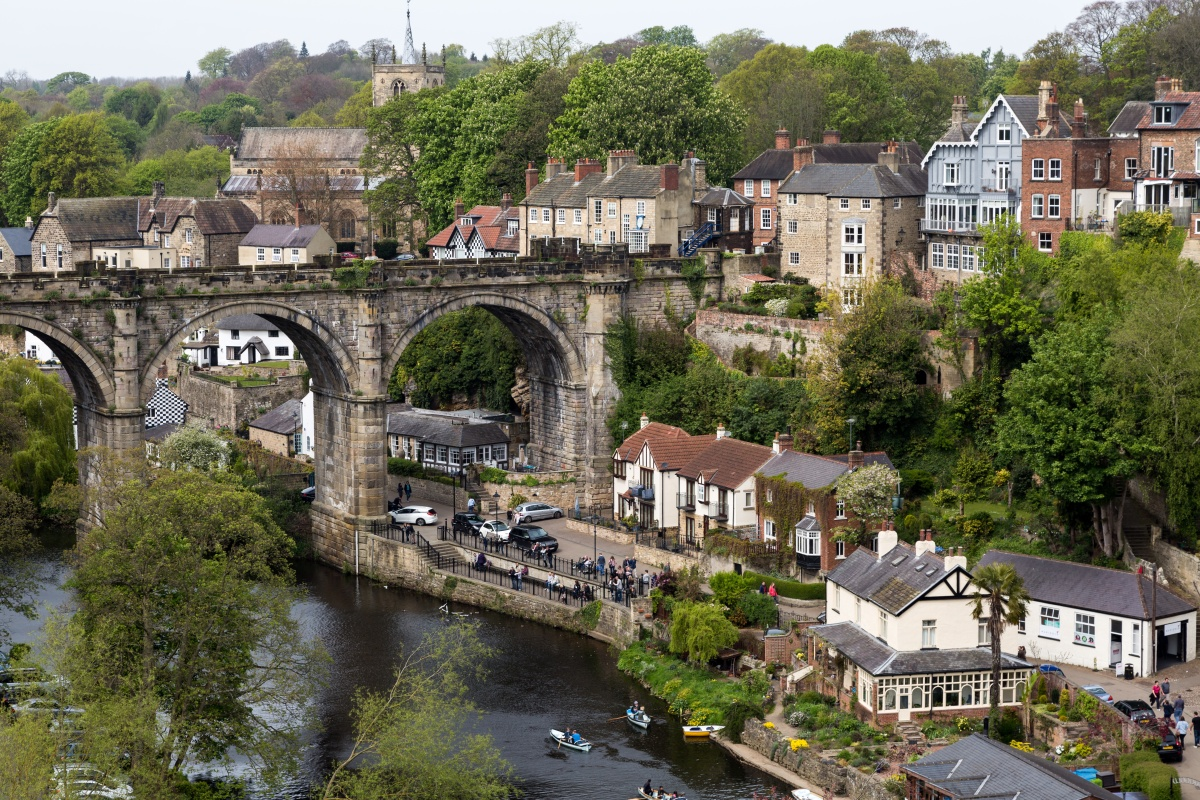 Harrogate is bidding to become the UK's first smart parking town