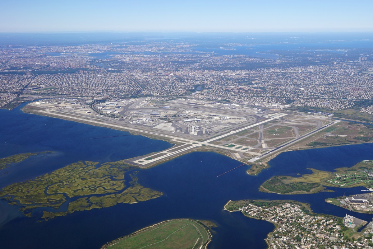 Those flying in and out of JFK airport are among those who will benefit from the technology