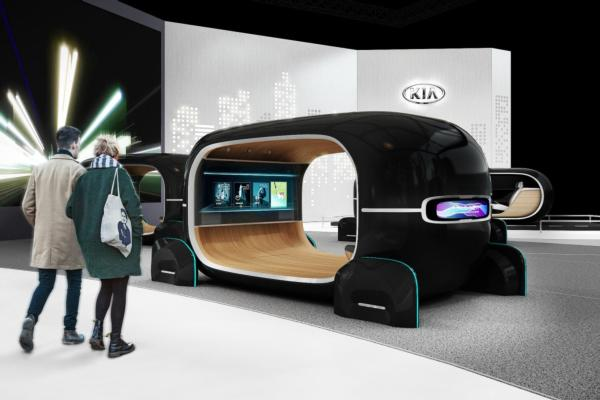 Kia envisions the post-autonomous era at CES 2019