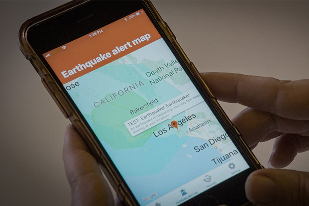 The app is designed to give Angelenos a head start when an earthquake occurs